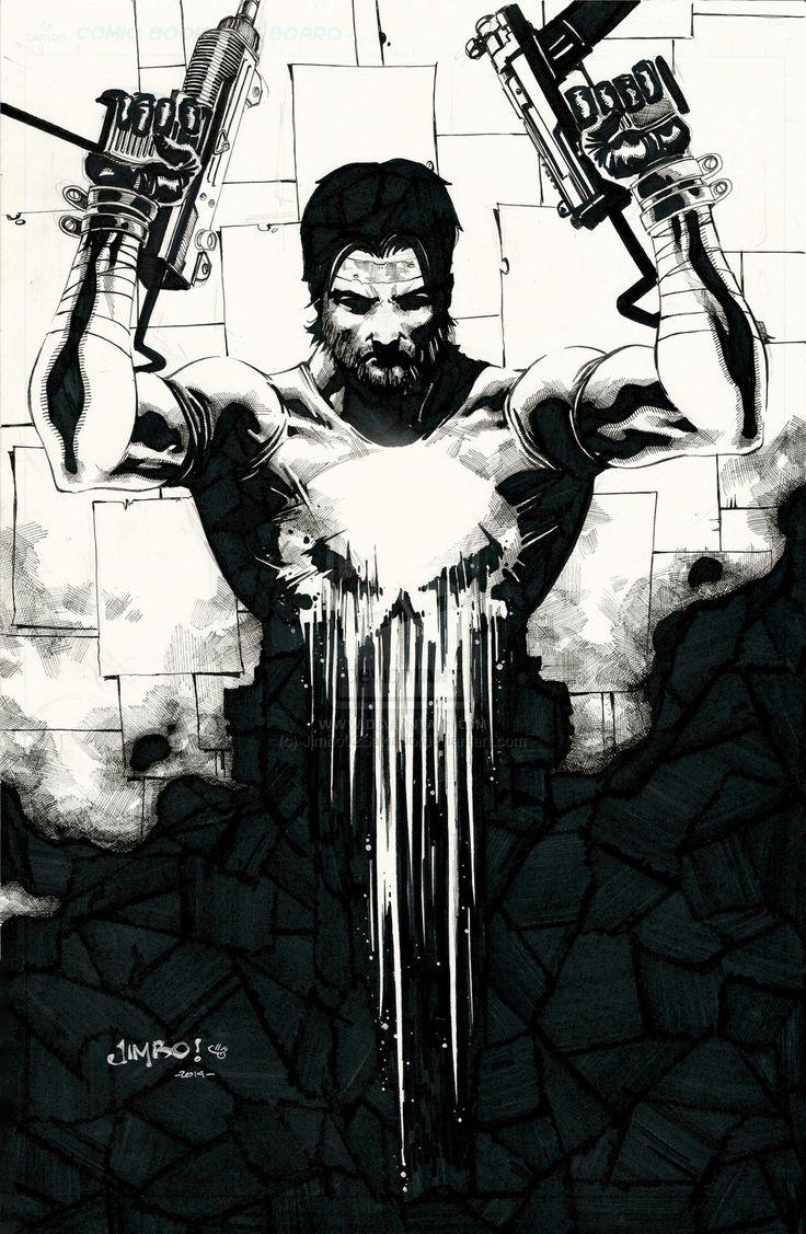 Punisher - Frank Castle by Jimbo Salgado