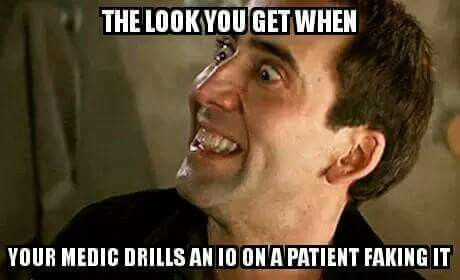 Lying patient consequences in EMS  (humor)