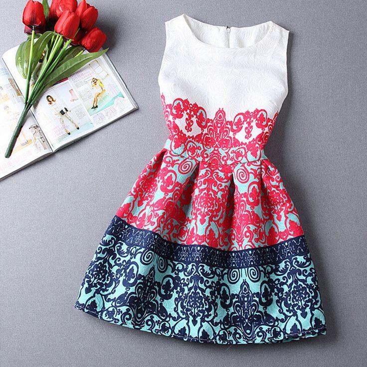 Rosalind 2015 Women Summer Style Dress Vintage Sexy Party vestidos Plus Size Female Maxi Boho Desigual