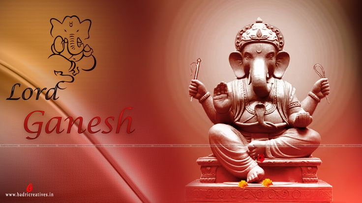 Lord Ganesh HD Wallpaper