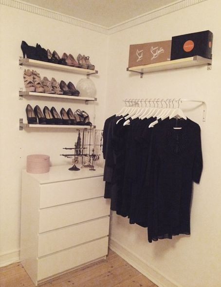 My mini walk in closet