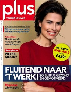 5x PlusMagazine € 17,-: Plus Magazine is het tijdschrift voor actieve 50-plussers. Elke maand 200 pagina's interessante en leuke informatie over financiën, gezondheid, lifestyle, cultuur en reizen.