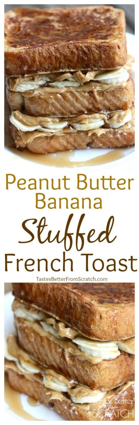 griddle recipes healthy peanut butter stuffed french toast the peanuts ...