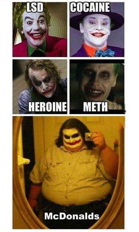 Choose your drug...