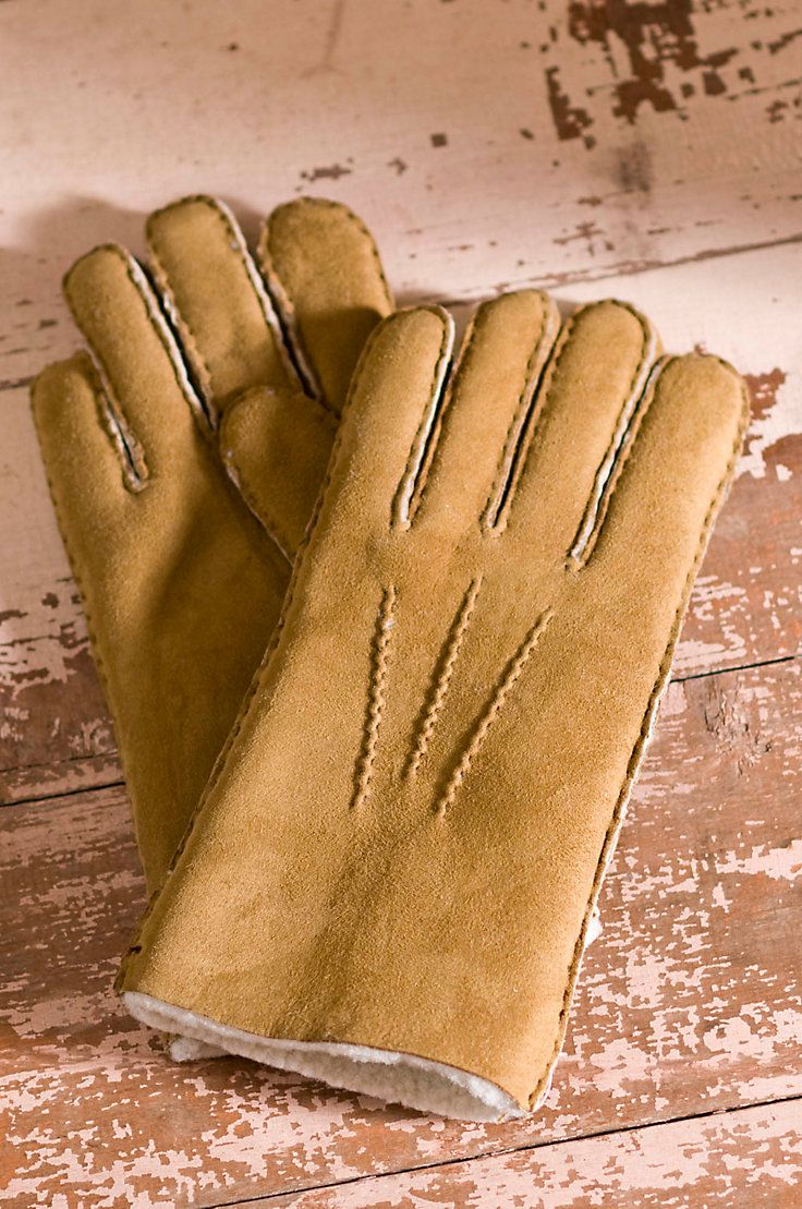 Sometimes, the simple things in life make the biggest difference - like our unbeatably comfortable 100% Sheepskin gloves. Soft and inviting, they fend off frostbite and keep your hands warm, all day long. A terrific gift - for yourself or someone else. Imported.