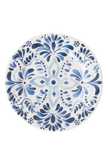 Free shipping and returns on Juliska Iberian Journey Ceramic Salad/Dessert Plate at Nordstrom.com. Painted in watery cobalt blues that mimic Mediterranean-inspired ceramic tiles, Juliska's Iberian Journey salad/dessert plate transforms the distinctive artisanal traditions of southern Europe into a stunning element of any table setting. Unlike vintage pieces, it can be safely moved from freezer to oven to microwave, then right into the dishwasher for easy cleanup.