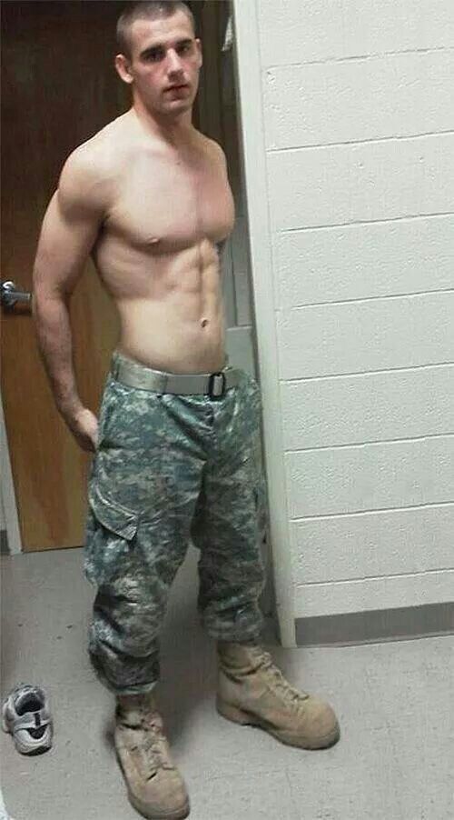 Hot and cute military gay guys