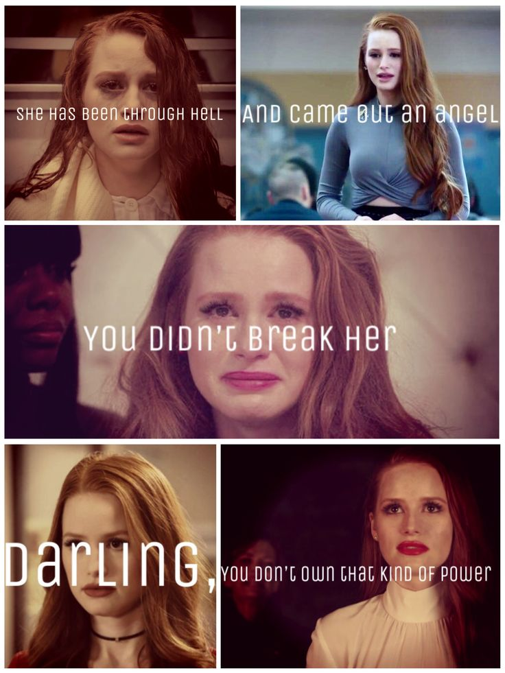 I feel like this pretty much sums up Cheryl blossom!