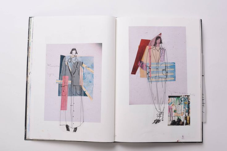 Fashion Sketchbook - fashion sketches & textile print development; fashion collage; fashion portfolio // Julia Feeney