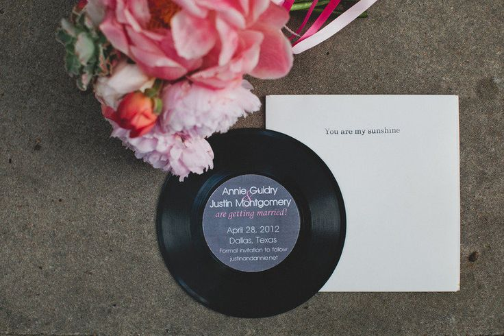 CD wedding favors | fabmood.com
