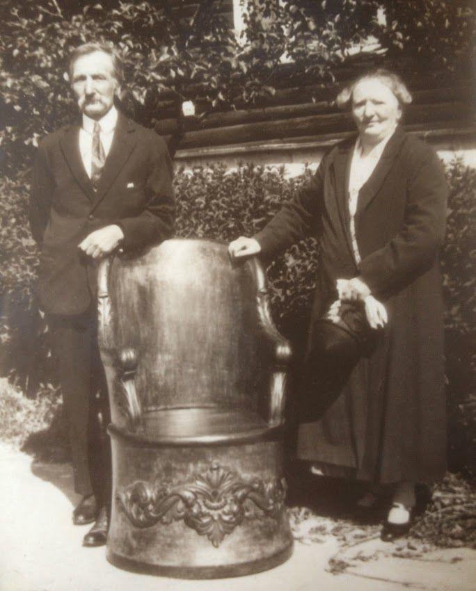 Syver Jotun og kona Klara