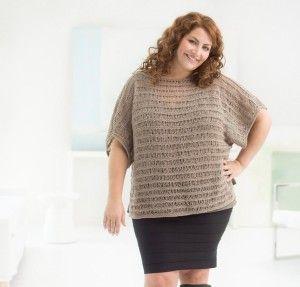 Curvy Girl Drop Stitch Pullover Kit