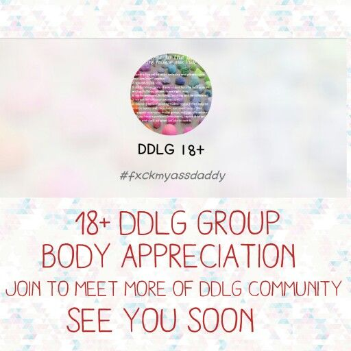 18+ DDLG Kik group. Please feel free to join and meet more people from the DDLG community. Hope to see you soon. #ddlg #ddlgcommunity #kikgroup