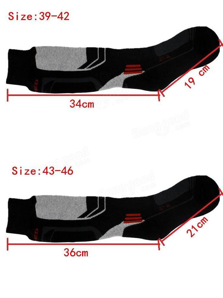 Men's Thick Cotton Socks Towel Bottom Warm Stockings Outdoor Sport  Ski Socks