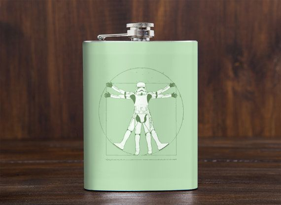 Christmas gift  Sale  Funny flask  Unusual gift for him