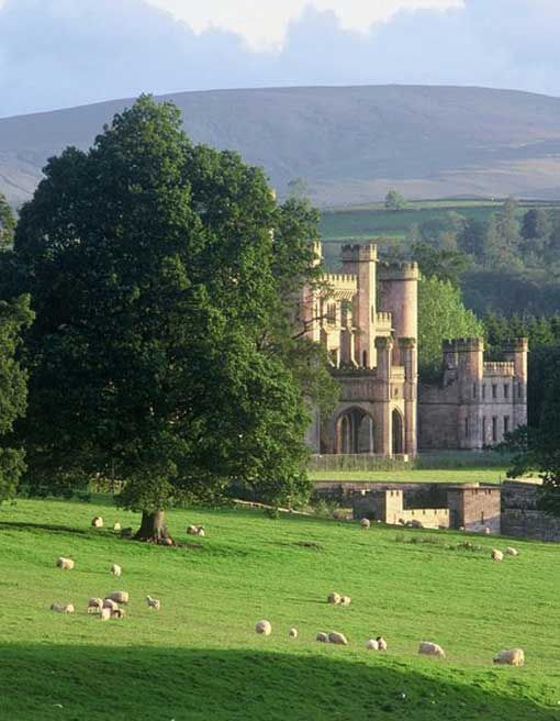 Lowther Castle and Gardens  PENRITH, LAKE DISTRICT