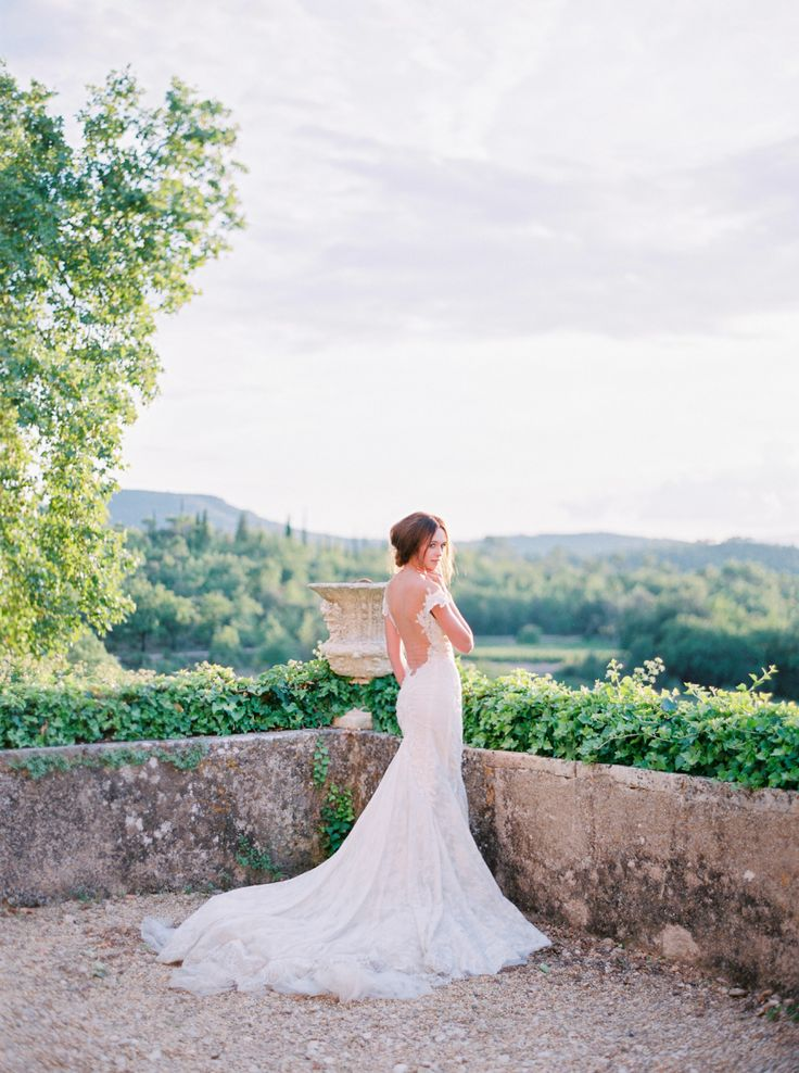 The perfect wedding dress for your venue: http://www.stylemepretty.com/2016/02/15/wedding-dress-venue-tips/