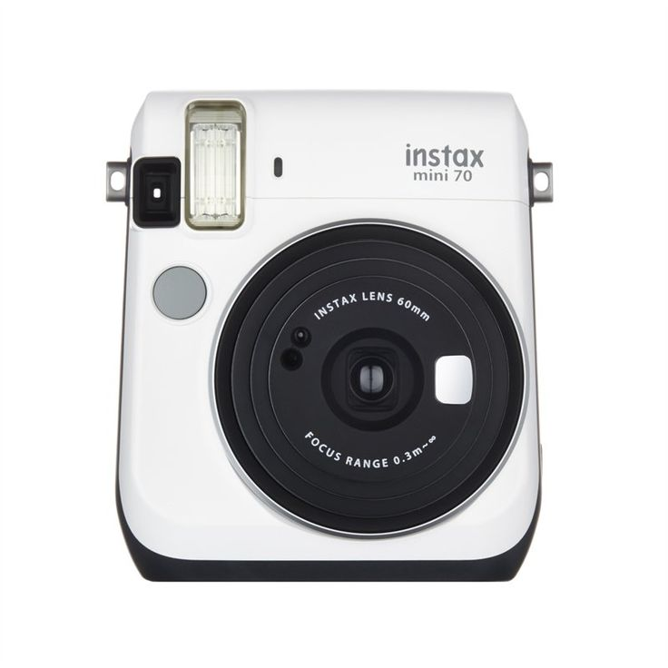 Take a selfie with this Fujifilm Instax Mini 70 instant film camera and watch it print and develop in as little as 90 seconds for an instant keepsake. Check your frame in the selfie mirror before shooting, so you can always get the perfect shot. Features: • Real image finder 0.37x viewfinder with target spot helps you frame your subjects. • Selfie mode Automatically provides the right amount of brightness for self-portraits. The selfie mirror lets you check your frame before taking photos. •…
