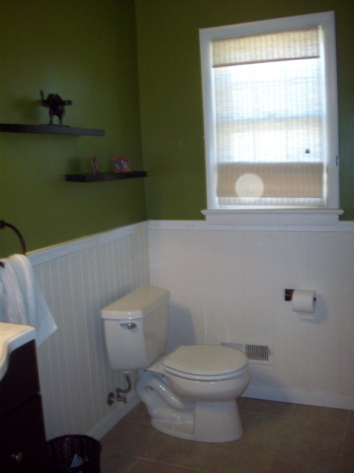 Behr Lucky Bamboo Paint Color With Natural Wood Instead