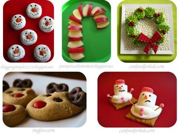 Comida de Navidad para niños/Christmas food for kids | Ritzy Blog