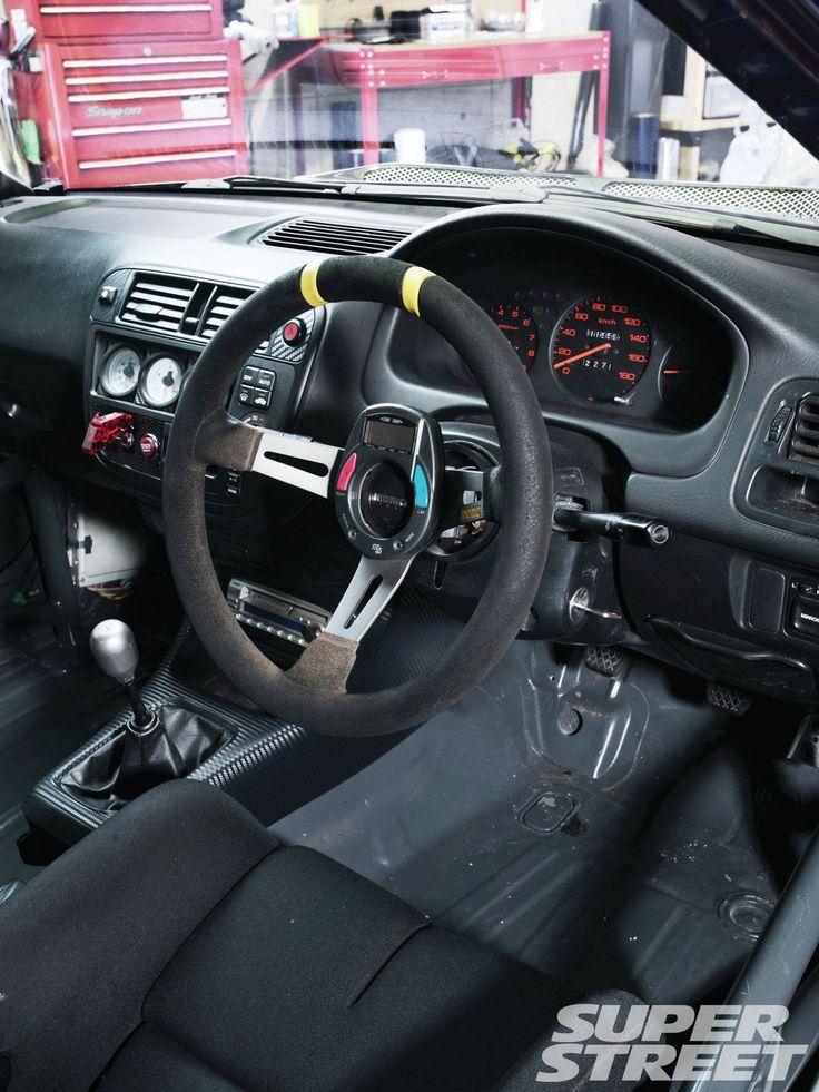 Sstp 1207 08 1996 honda civic sir ek4 steering wheel ek - 1996 honda civic hatchback interior ...