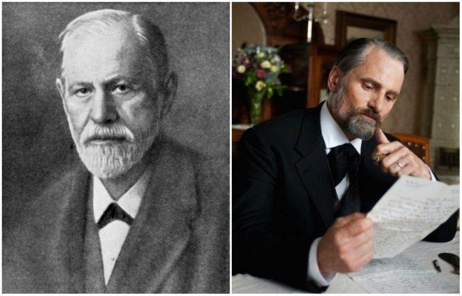 Sigmund Freud un Viggo Mortensen