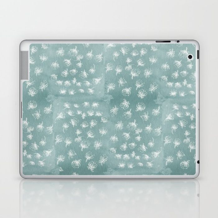 Buy snowy Pohutukawa flakes Laptop & iPad Skin by emiliegeant. Worldwide shipping available at Society6.com. Just one of millions of high quality products available.