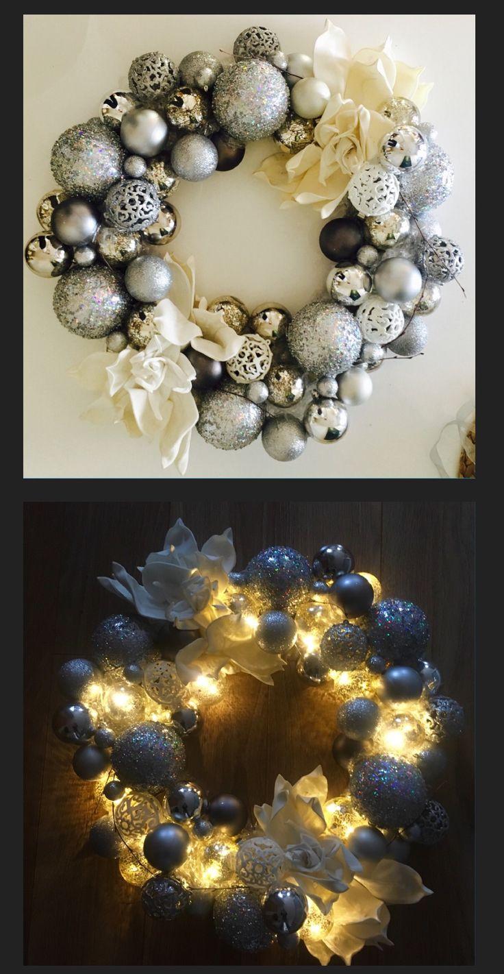 Vianoce, Christmas, Veniec, wreath, DYI