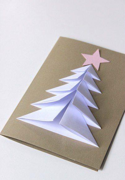 Weihnachtskarten selbst basteln – Anleitung-dekoki…