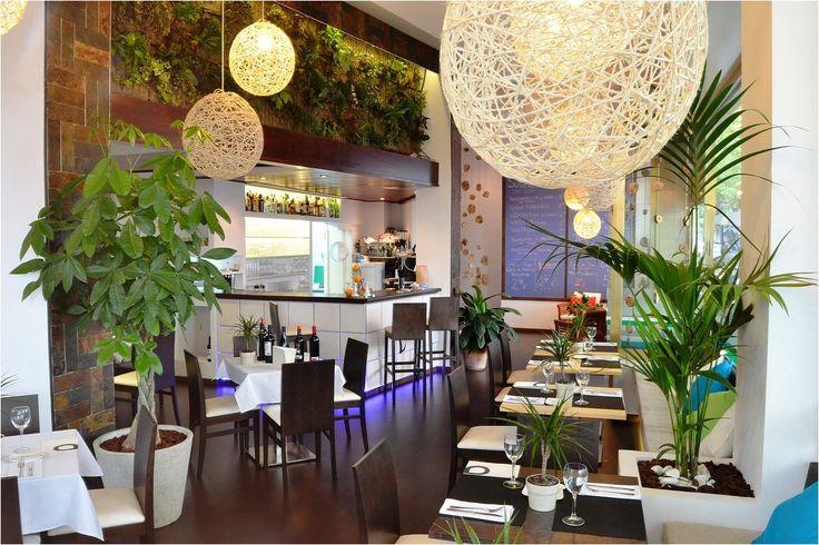 Cafeteria #Restaurante #tropical #decoracion via @planreforma ...