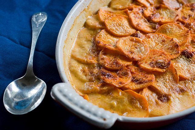 Smoky Spicy Sweet Potato Gratin by Savour Fare, via Flickr - this is ...