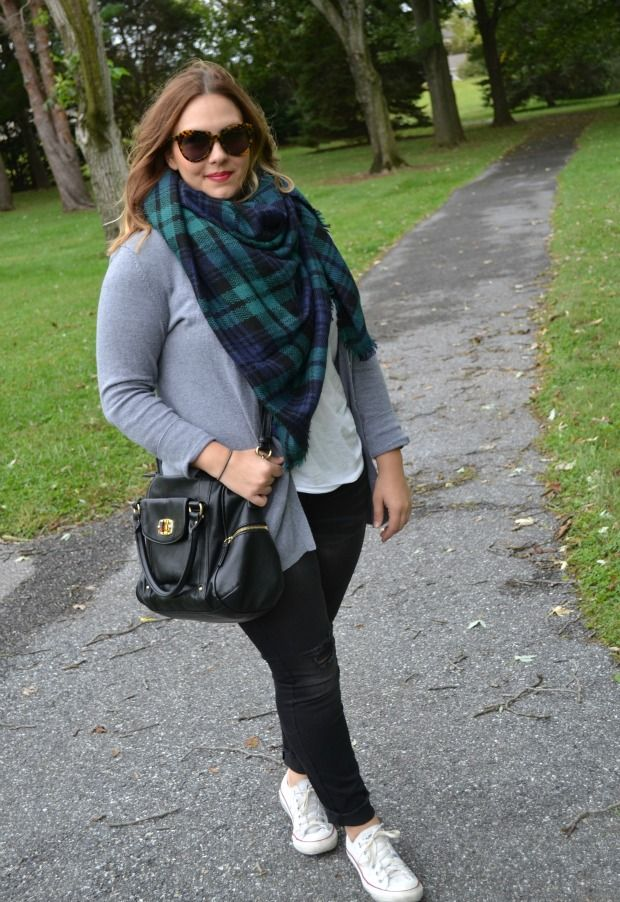 Plus Size Outfit Ideas. Sweater Weather. Black Skinny Jeans ...