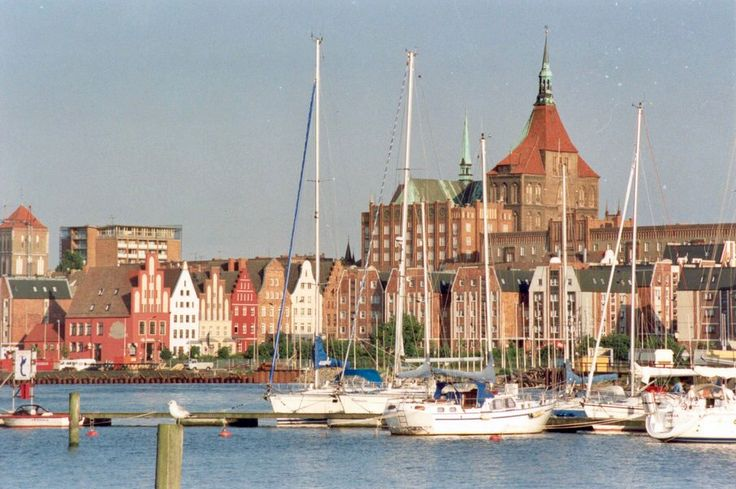 Rostock er hafenansicht