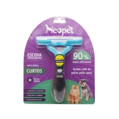 Chega de Pelos por toda a parte! :) Escova Inteligente para Pelos Curtos Neopet Média. #petmeupet #neopet #escova #cachorro #gatos