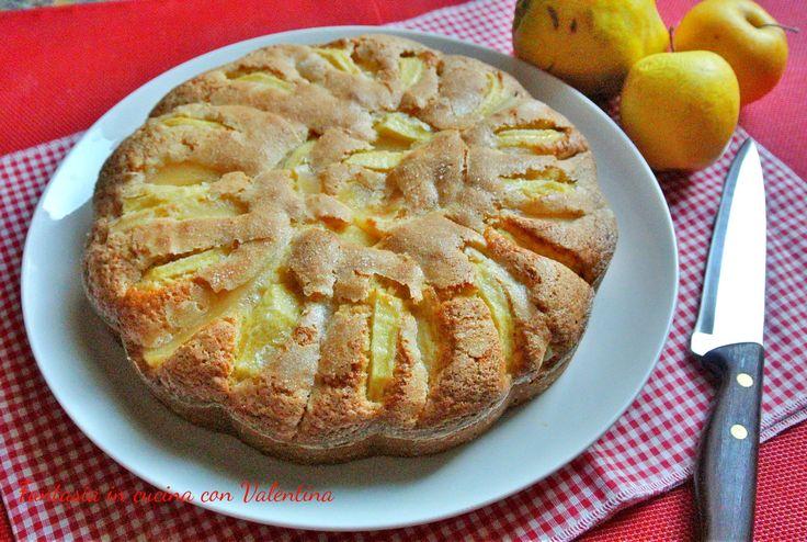 Torta+di+mele+e+mele+cotogne