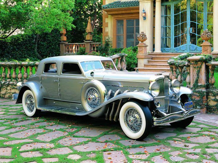 1933 Duesenberg – Model SJ - (Duesenberg Automobile & Motors Company, Inc. Auburn, Indiana,1913-1937)
