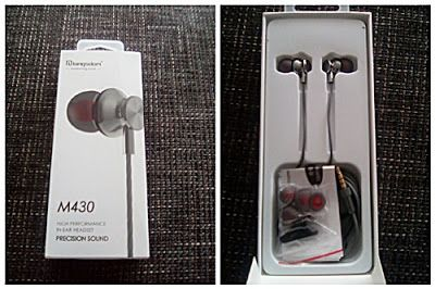 Nimrodel AT´s Foto, Bastel- und Produkttestblog: Langsdom In Ear Kopfhörer in Grau