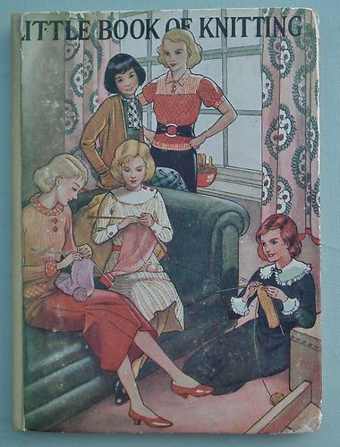 Portada de 'The Little Book of Knitting'
