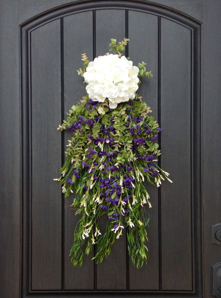 17 best images about home decor wreaths on pinterest for Indoor outdoor doors