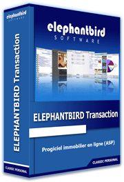 ELEPHANTBIRD #Transaction est un puissant #logiciel de transactions immobilières en mode ASP.  Convivial et ergonomique, personnalisable et accessible 24h/24 et 7j/7 par le navigateur depuis n'importe quel ordinateur connecté à Internet (ADSL, 3G, …), il facilite grandement votre mobilité notamment grâce à sa toute nouvelle version sur #iPad.