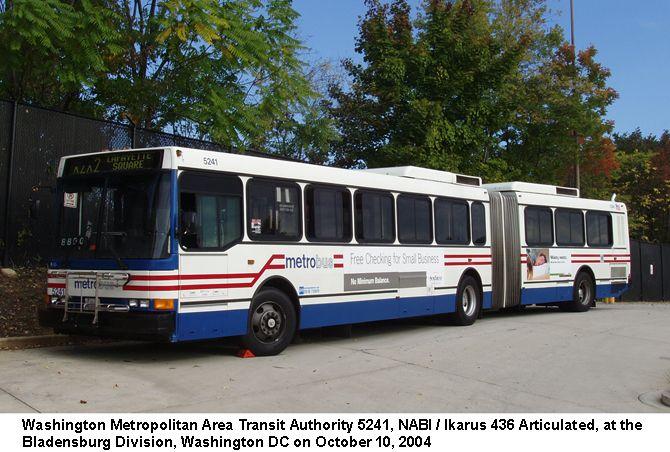 WMATA Metrobus.