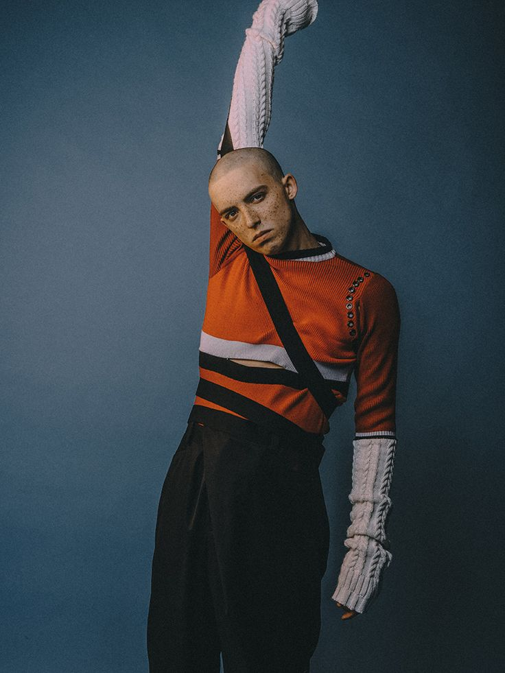 Photographer Jiajie Lin and stylist Leighton Tian Tzouh Lee teamed up to capture this story in exclusive for Fucking Young! Online, featuring pieces from Quinlan Lin. Make-up: Sergio Alvarez Model: William @ Bookings Model London