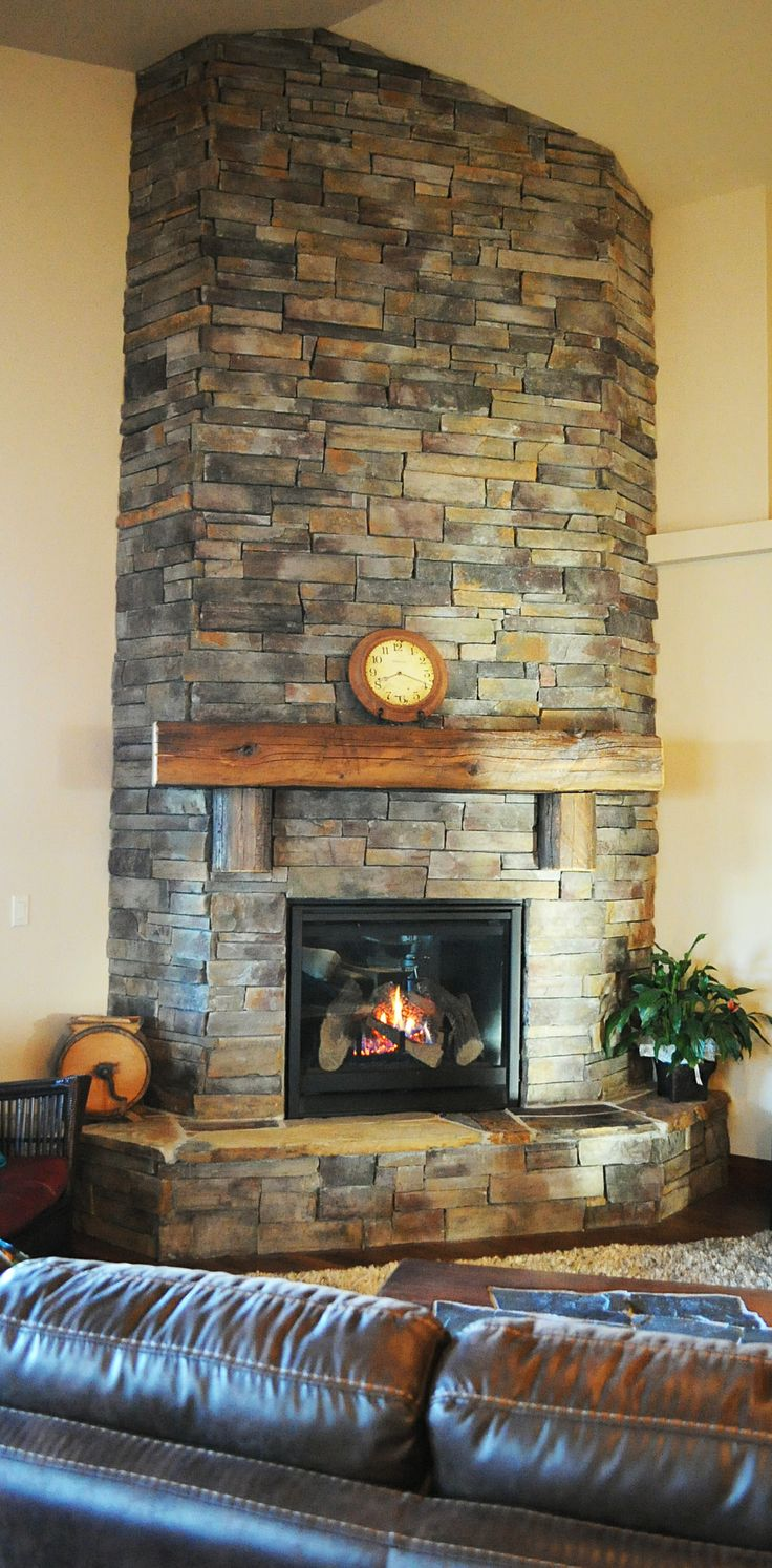 Floor to ceiling fireplaces when you build with Monogram Homes. #fireplaces