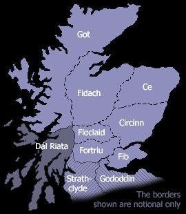The ancient kingdoms of Scotland