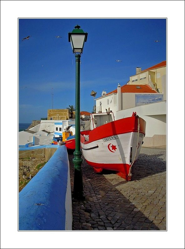 Fishing boat in Ericeira -, Lisboa  Portugal