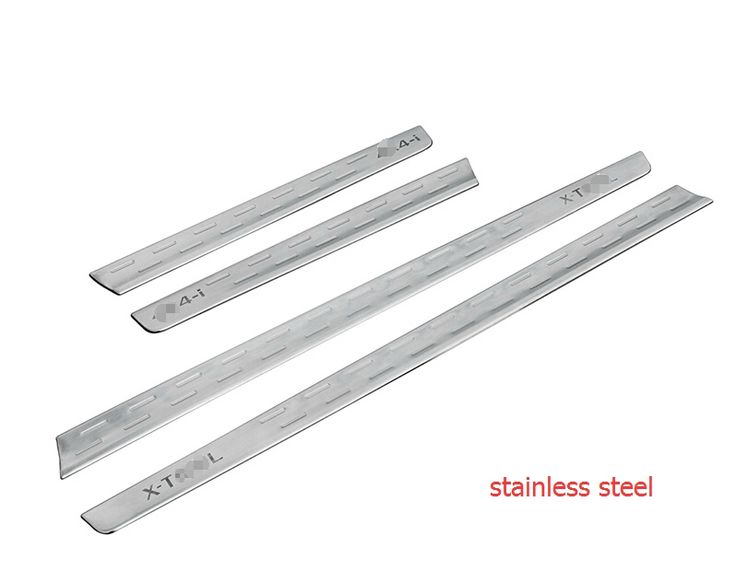 (57.71$)  Buy here  - Accessories ! 4 Pcs For Nissan Rogue 2014 2015 2016 / X-trail 2014 2015 2016 Stainless Steel Side Door Body Molding Cover Trim