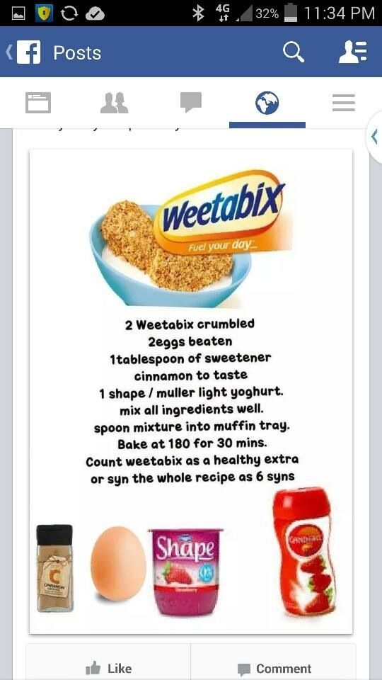 WEETABIX CAKES