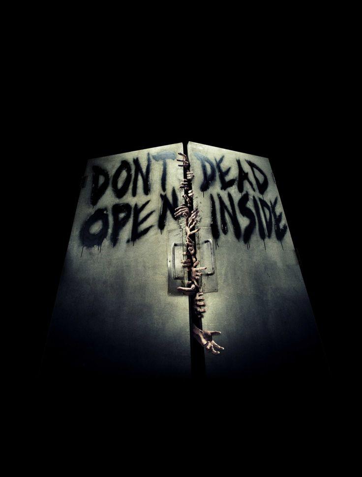 The Walking Dead Poster - Don't open - Dead inside by Kolorama on Etsy https://www.etsy.com/listing/220568595/the-walking-dead-poster-dont-open-dead