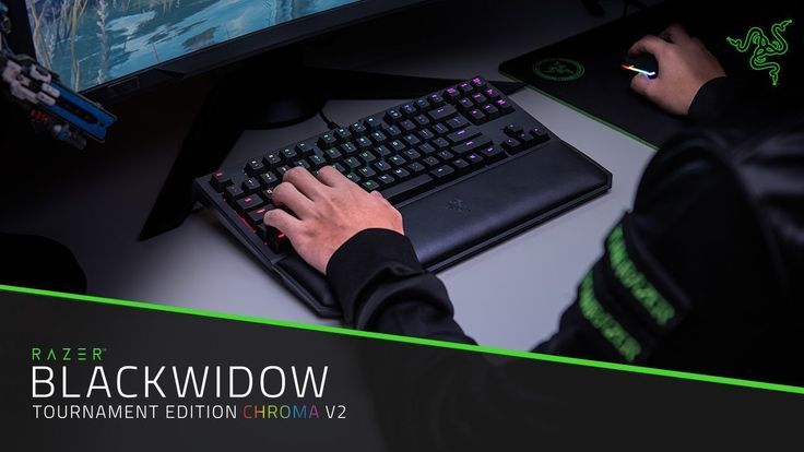 Razer has announced the launch of theBlackWidow Tournament Edition Chroma V2 Keyboard featuring Instant Trigger Technology! IRVINE, Calif.,Aug. 1, 2017-- Razer, the leading global lifestyle brand for gamers, today announced the launch of the Razer BlackWidow Tournament Edition (TE) Chroma V2, the gaming keyboard of choice for esports players. The Razer BlackWidow TE Chroma V2 is the compact mechanical gaming keyboard built for competitive gamers looking for rapid reaction speeds. The new…