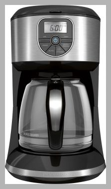 The Price Stalker Price History Report | Black & Decker - 12-Cup Coffeemaker - Black/Silver